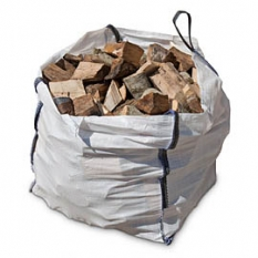 Image of Builders Bag of Seasoned Mixed Logs (approx 1m3)